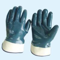 Buy cheap Blue Nitrile Coating Glove from wholesalers