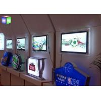 China Advertising Led Poster Frame Light Box Acrylic Sheet Lighted Movie Poster Frames on sale