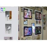 Hanging LED Poster Frame Light Box Double Sided Movie Poster Display Case Manufactures