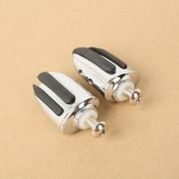 Quality Chrome Pilot Shifter Pegs w/ Bolt For Harley Softail Dyna Night Train Bad Boy for sale