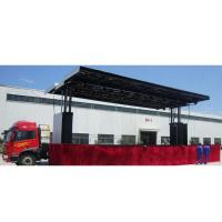 Buy cheap Mobile Advertising LED Stage Semi Trailers from wholesalers