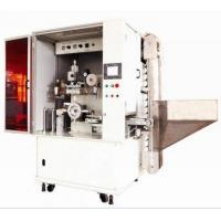 Automatic hot foil printing machine for cosmetic caps Manufactures