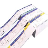 Air ticket receipt book printing in China guangzhou manufacturer Manufactures