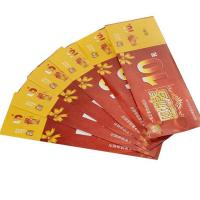 Newest design high quality ticket printing & cheap Shopping cash Manufactures