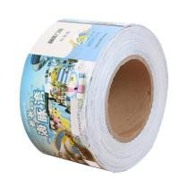 Roller color printing double-sided adhesive sticker tickets book Manufactures
