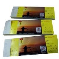 Factory supply cheap custom colourful voucher for swimming ticke Manufactures