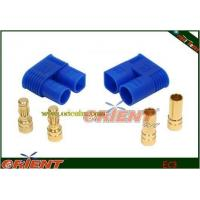 3.5mm gold plated connector with blue EC3 plastic housing Manufactures