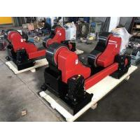 China Hand Control And Foot Pedal, 20 Ton Steel Pipe Rollers With Remote on sale