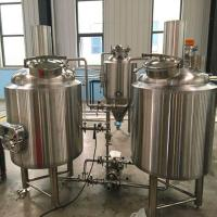 Buy cheap bar brewing used 250 liters brewhouse and fermentation system from wholesalers