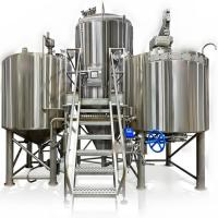 Buy cheap 1500L Beer Brewhouse Equipment Commercial large brew machine from wholesalers