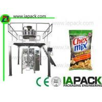 Automatic Food Packing Machine Snacks Packaging Machine For Pillow Bag Gusset Bag Manufactures