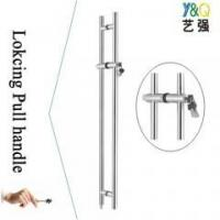 Buy cheap luxury door handle with lock from wholesalers