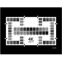 4K(UHD TV) resolution test chart YE0277 Manufactures