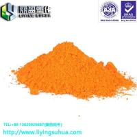 Buy cheap PVC TPE special injection coating ink fluorescent orange yellow pigment from wholesalers