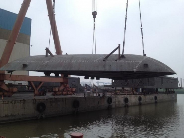 China Ship's steel structure Ship block