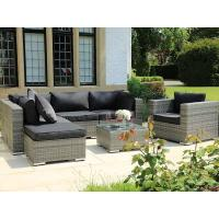 Quality Modern outdoor garden rattan wicker dinning tables and chairs dining set for sale