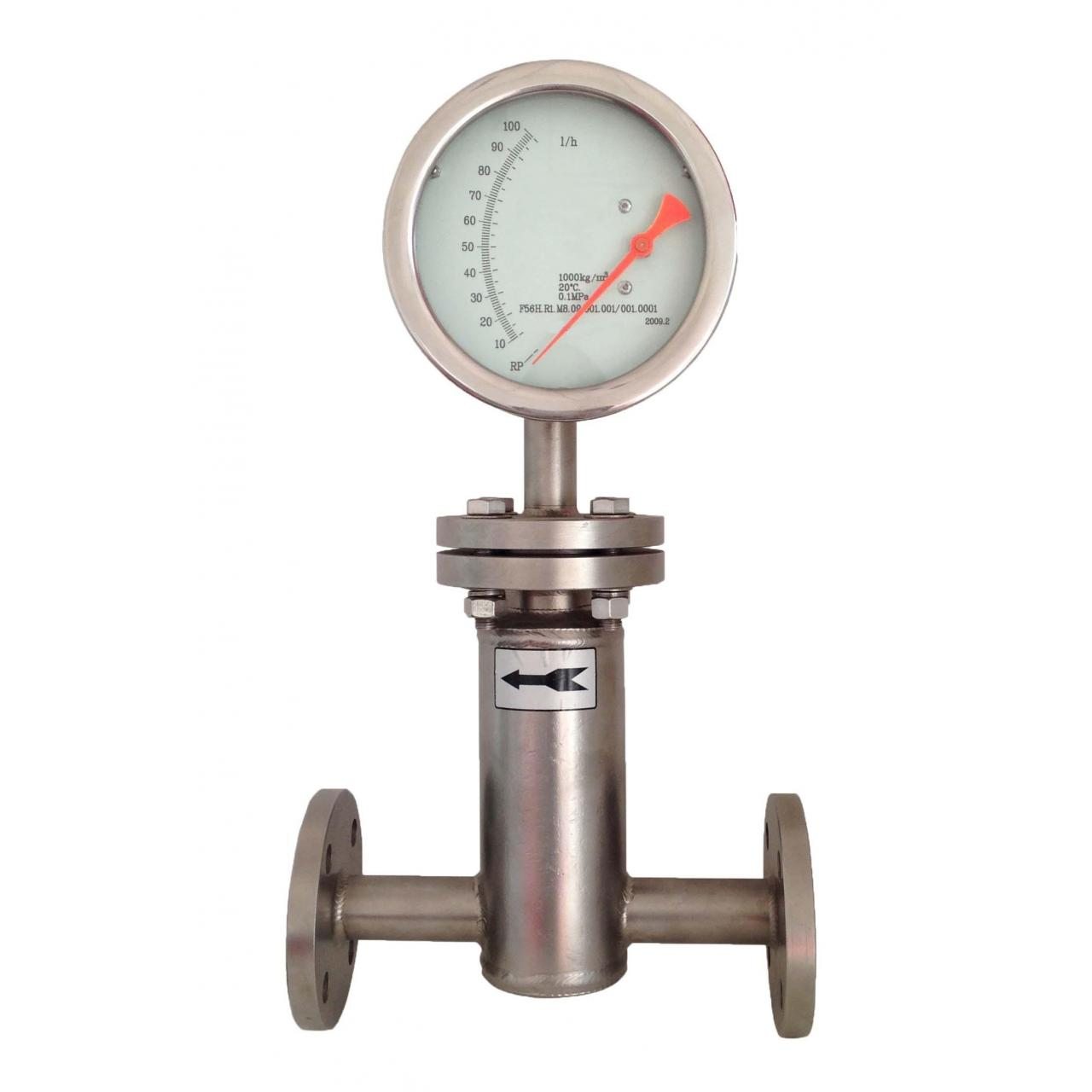 Buy cheap Horizontal mounting P8 Variable area float flow meter from wholesalers