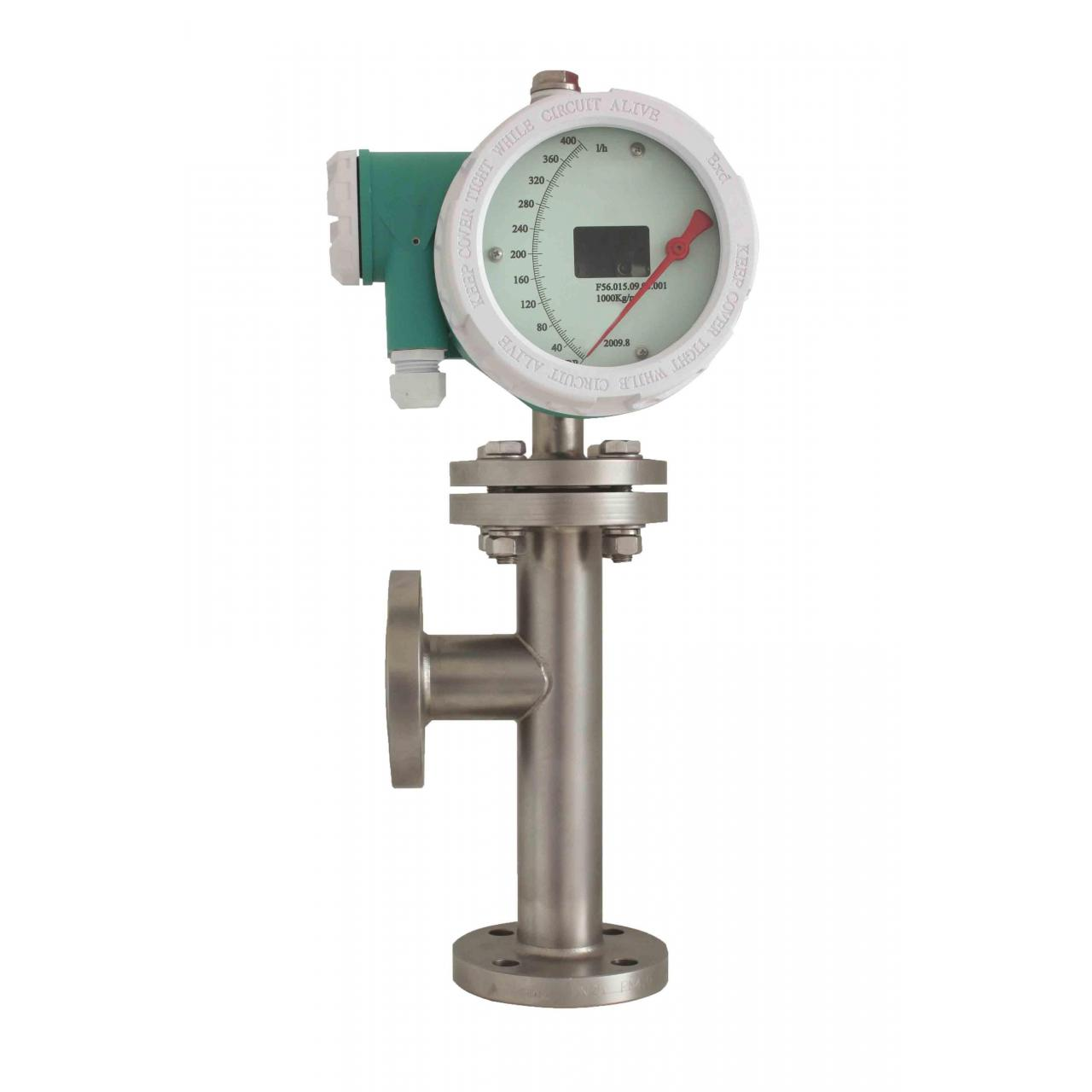 Buy cheap Bottom in up out P10 Variable area float flow meter from wholesalers