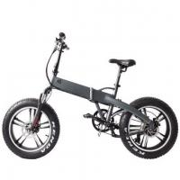 48v Fat Tire Electric Bike Folding with Hidden Battery Manufactures