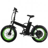 20 Inch Folding Electric Fat Bike 1000w 48v for Sand Manufactures