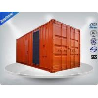 Three Phase Diesel Container Generator Set 75 dB Water - Cooled 1080-1350 kw/kva Manufactures