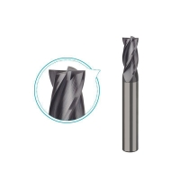 Carbide end mill for steel up to HRC45 milling, 4 flutes coated milling tools -PS214 Manufactures